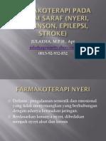 1. Farmakoterapi Pada Sistem Saraf Nyeri