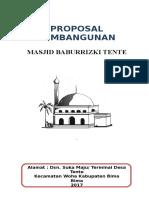 Proposal Masjid Nurul Huda