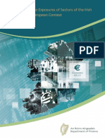 170913 Uk Eu Exit Trade Exposures of Sectors of the Irish Economy in a European