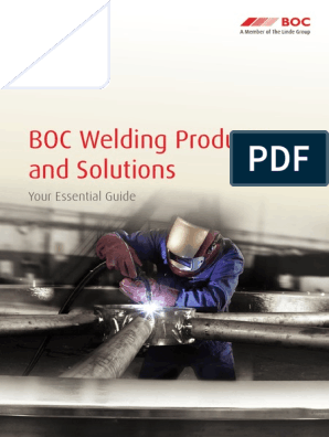 BOC Welding Products & Solutions - Essential Guide | Welding