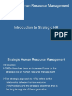 2- Introduction to Strategic HRM