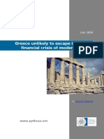 Greece Unlikely to Escape Its Worst Financial Crisis of Modern Times