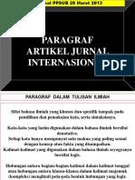 Metode Ilmiah Penulisan Paragraf Dalam Jurnal