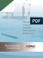 AONE Nursing Competencies