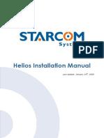 Manual Heliosinstallation
