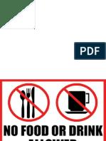 no food allowed dilarang makan dan minum.pptx