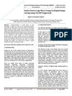 An Enhanced Method to Detect Copy Move Forgey in Digital Image Processing using 2D-DWT Approach