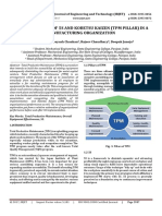Implementation of 5S and KOBETSU KAIZEN (TPM Pillar) in a Manufacturing Organization