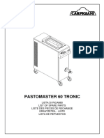 Pk 60 Tronic Parts Manual