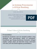 Studi Kasus Tentang Pencemaran Udara Di Kota Bandung