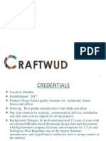 Craftwud Product Supplied