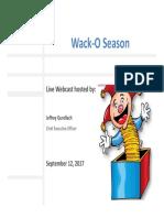 Wack O Season FINAL Mailing Version