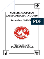 Materi Jambore Ranting 2016 SMP_MTs
