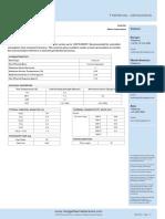 Firelite 2600 Li Metric Data Sheet