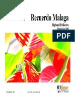 Recuerdo Malaga Demoscore