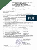 Surat Pengumuman Ppg Ke Dinprov DKI