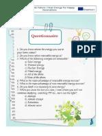 2 1 questionnaire