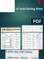 02_LM-25_Estimation of Machining Time