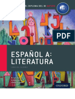 Libro Oxford. Español a. Literatura