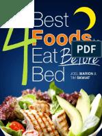 4 Best Foods Before Bed FYBS829