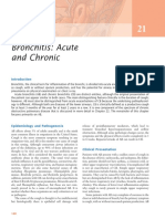 Bronchitis Acute and Chronic