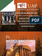 Arq.neoclasica, Romantica y Moderna