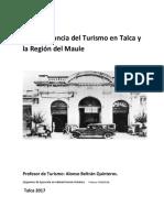 La Importancia Del Turismo en Talca y La Región Del Maule
