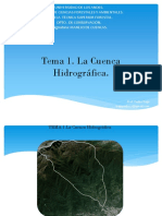 Tema1 P1 1 La CHidrográfica