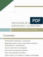 5. Motivación Intrínseca y Extrínseca 2016-17