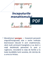 Inceputurile-monahismului