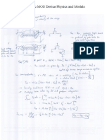Chapter 1 - Basic MOS Device Physics and Models