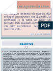 Proyecto de cia Legal Pawer Point