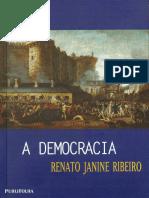 A Democracia - Renato Janine Ribeiro.epub