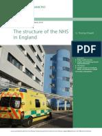 Parliament NHS Structure