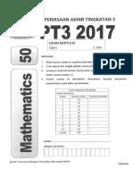 Trial PT3 Matematik MARA 2017