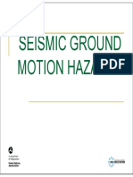 Ground Motion Hazards