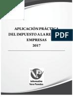 03. Aplicación Práctica Del Impuesto a La Renta de Empresas 2017