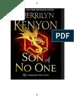 Son Of No One Sherrilyn Kenyon Pdf