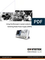 Using Oscilloscopes in Power Analysis of SMPS