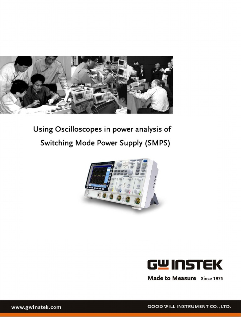 Using Oscilloscopes In Power Analysis Of Smps Supply Switch Mode Direct Current