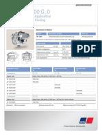 MTU 400 KW 8V1600G80S EPA Tier 3 Emissions Engine Spec Sheet