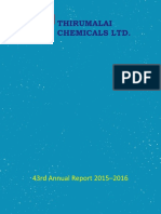 Thirumalai Chemicals Ltd 2015 16