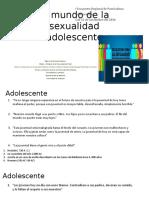 El Mundo de La Sexualidad Adolescente
