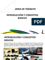 1. Introduccion y Conceptos Básicos transito