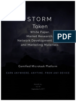 STORM Token Whitepaper and Market Research DRAFT v2.19 New
