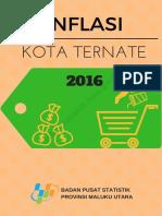 Inflasi Kota Ternate 2016