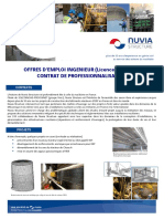 Nuvia - Offre d'Emploi - Contrat de Professionnalisation IMRO