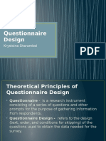 Questionnaire Design Sharambei.pptx