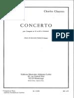 Concerto Chaynes Trompet