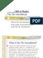 5th Amendment101